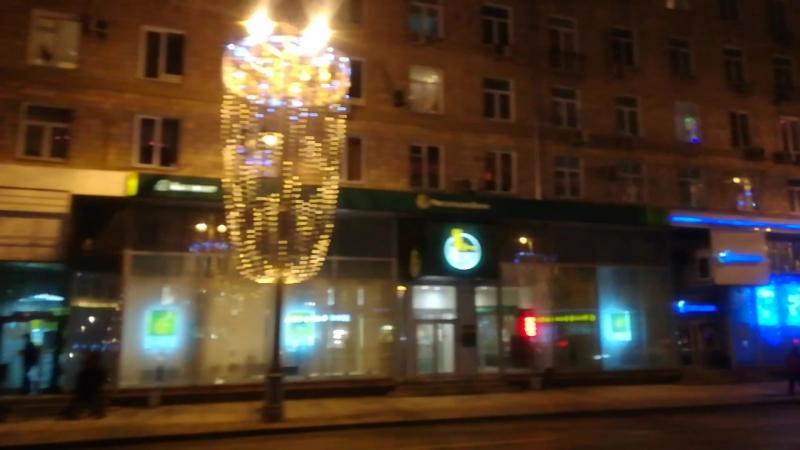 Рождественская автобусная прогулка по Москве