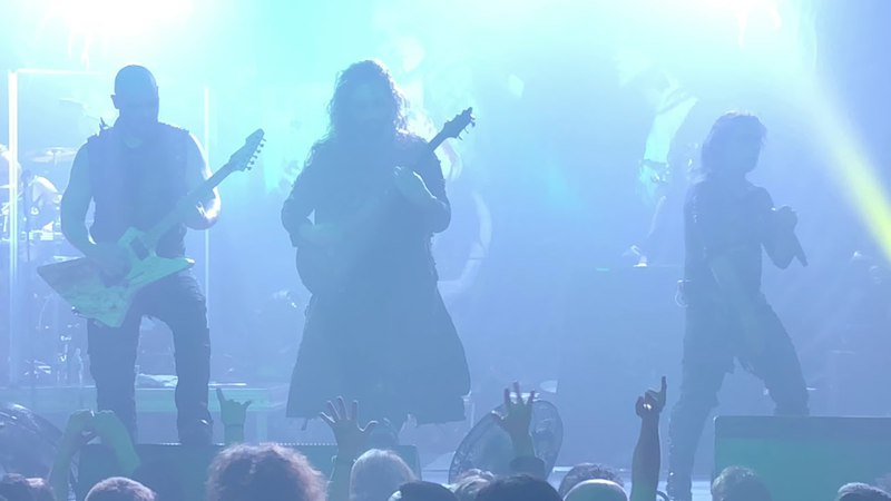 Cradle of Filth Born in a Burial Gown Paris 2018