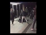 Появилось видео задержания предполагаемого телефонного террориста, «заминировавшего» ТЦ «Охотный ряд»