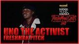Uno The Activist's Pitch for 2018 XXL Freshman