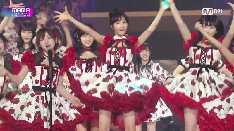17.11.29 Pristin, Weki Meki, Chungha, Fromis_9, Idol School, AKB48 - It's Showtime!