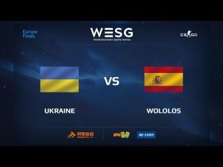 Ukraine vs Wololos, map 3 inferno, WESG 2017 CS:GO European Qualifier Finals
