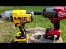 Milwaukee 18v Fuel (2763-20) vs DeWalt 20v XR Impact Wrench (DCF899B) Lag Bolt Face Off in 4k