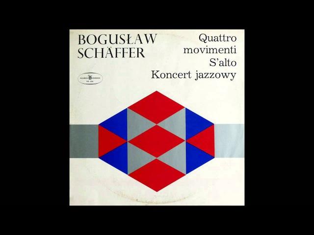 Bogusław Schäffer - Koncert Jazzowy Na Orkiestrę 1969 [Vinyl]
