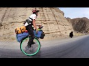 21 year old rides unicycle 5000km across China!