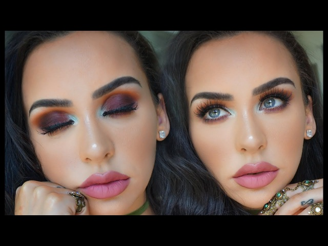 SUMMER SUNSET EYES USING ALL NEW PRODUCTS! Carli Bybel