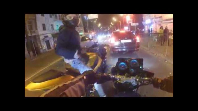 Отрывки лета Покатушки на мотоциклах Один вечер из жизни байкера