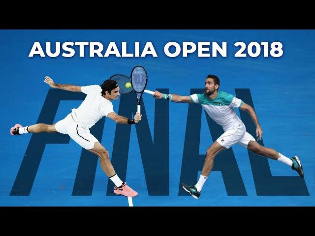 Roger Federer vs Marin Cilic - Australian Open 2018 Final (Highlights HD)