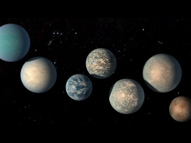 Hubble Observes Atmospheres of TRAPPIST-1 Exoplanets in the Habitable Zone