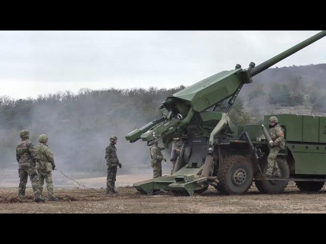 CAESAR 8x8 155 mm Self-Propelled Gun-Howitzer