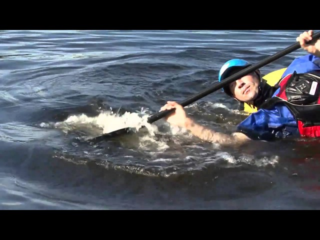 The Sculling Brace for Whitewater Kayakers
