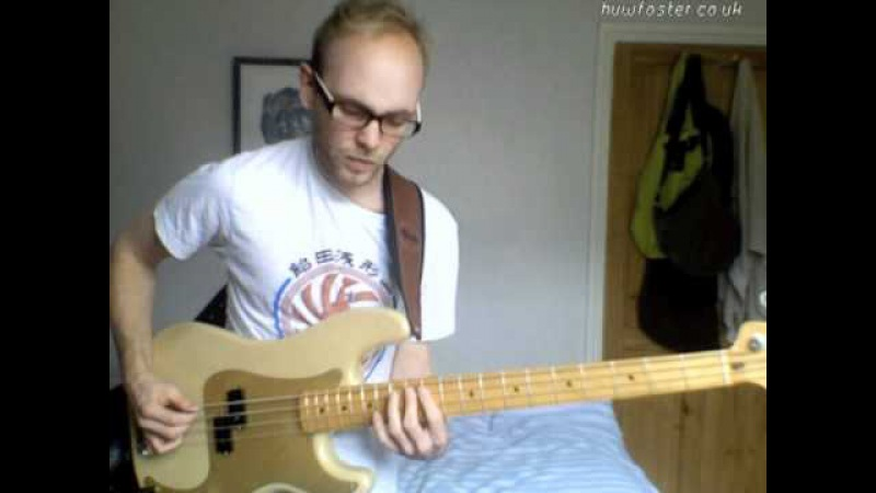David Bowie - 'Let's Dance' bass playalong by Huw Foster