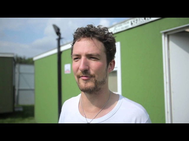 Frank Turner and Mongol Horde - Reading Leeds Festival 2012 - Interview