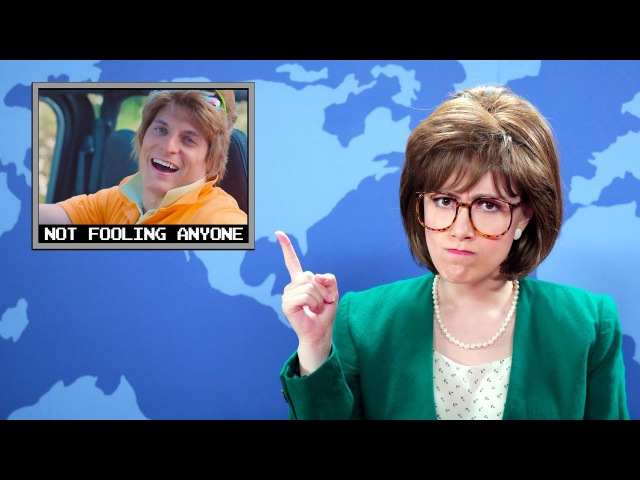 Hilarious Newscast Gone Wrong | YOU'RE NOT FOOLING ANYONE official music video (Whitney Avalon)