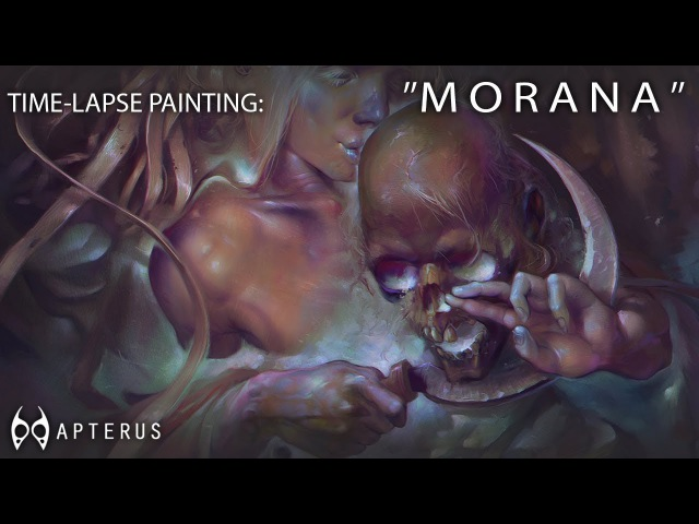 Time-lapse painting: Morana