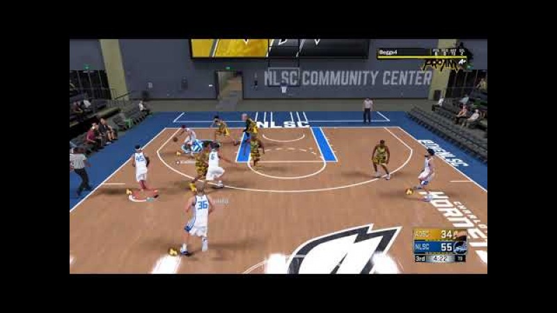 2KTVWOW - Pass Goes in For Three (NBA 2K18, 2K Pro-Am)