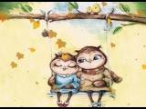 Совушки. Чудесный мир художницы Инги Пальцер · #coub, #коуб