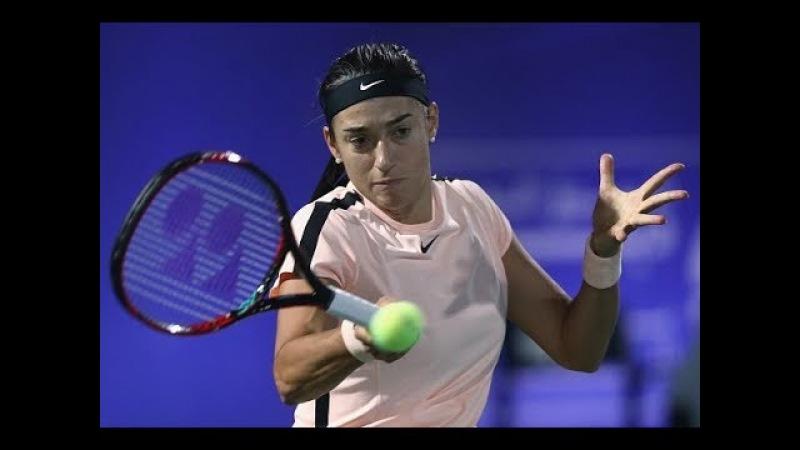 2018 Dubai First Round Caroline Garcia vs Lucie Safarova WTA Highlights
