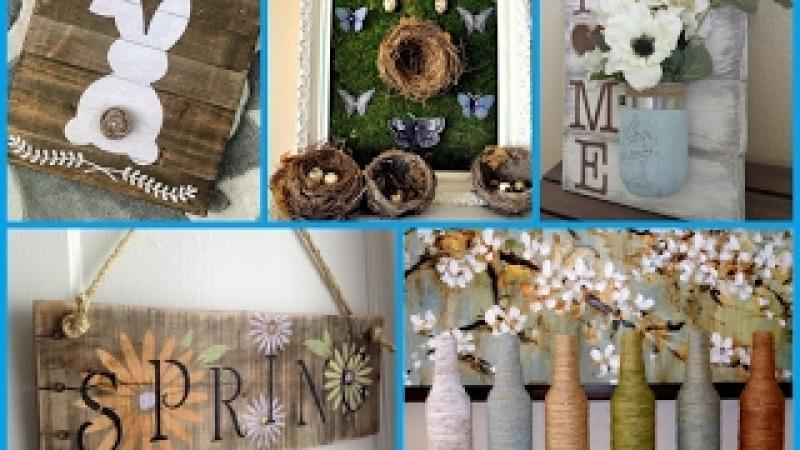 DIY Rustic Decorating - 25 Spring Room Decor Ideas