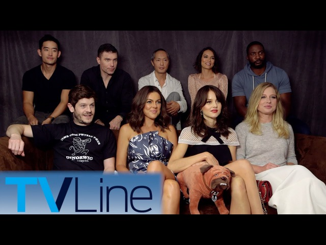 Marvels Inhumans Interview | Comic-Con 2017 | TVLine