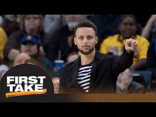 Stephen A. and Max debate if Steph Currys injury hurts Cavs-Warriors matchup | First Take | ESPN