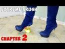 Crush Fetish of Fruits in Platform High Heels Gianmarco Lorenzi Suede Boots Size 37 Chapter 2