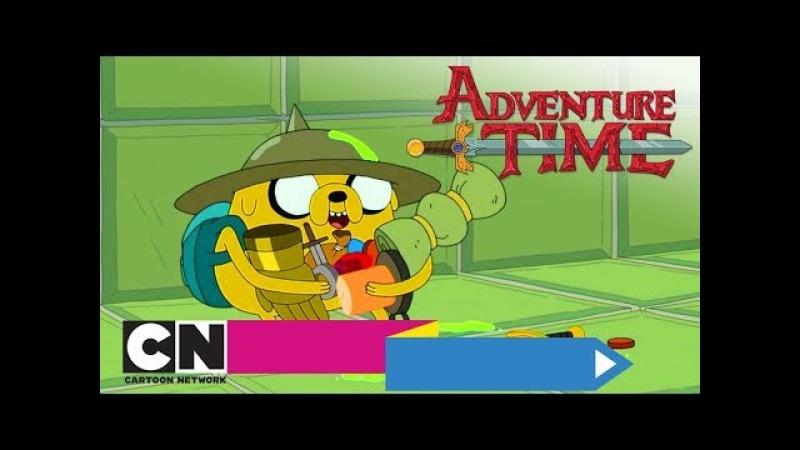 Время приключений   Поезд ужасов Жажда красного (серия целиком)   Cartoon Network