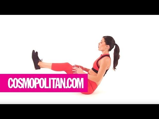 Get A Flat Stomach in 5 Minutes: Week 2 | Cosmopolitan