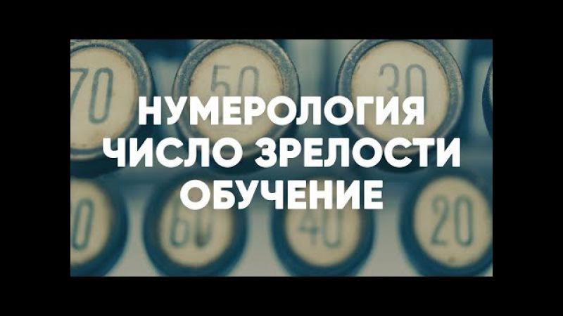 Нумерология Число Зрелости Обучение