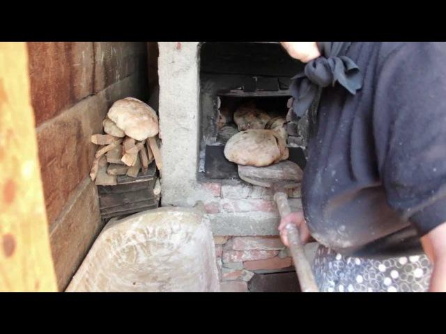 Transylvanian traditional bread-making