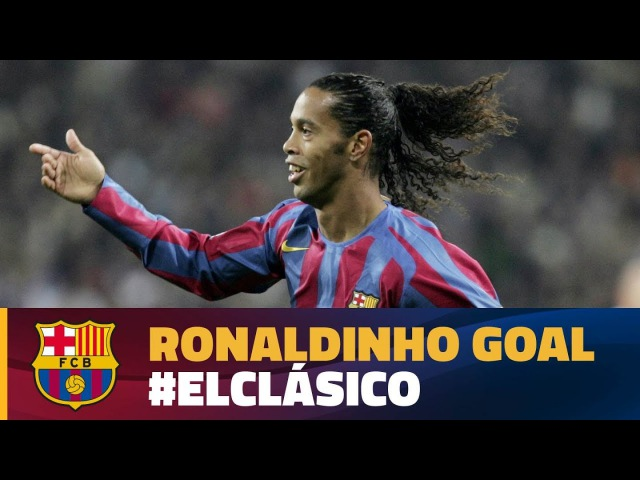 Best Goal | El Clásico 2005 | Ronaldinho