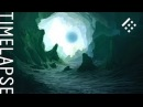Cave digital art Timelapse