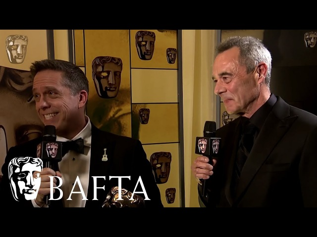 Coco wins Animated Film | Backstage Interview | EE BAFTA Film Awards 2018