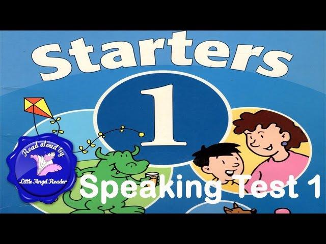 Speaking Test Starters 1 Test 1