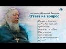 Прот. Димитрий Смирнов. Один мальчик в детском саду проявляет к моей внучке разные нежности