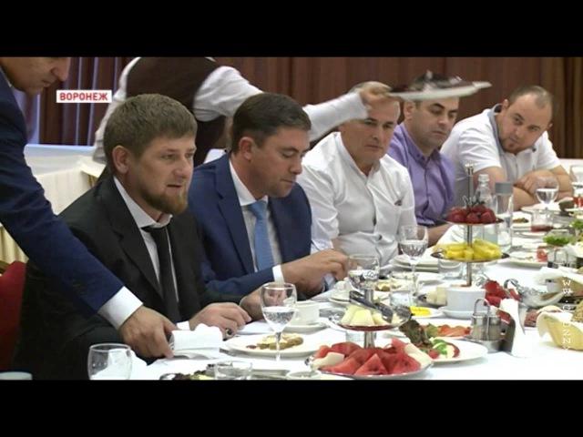 Р.Кадыров пообещал мусульманам Воронежа построить мечеть