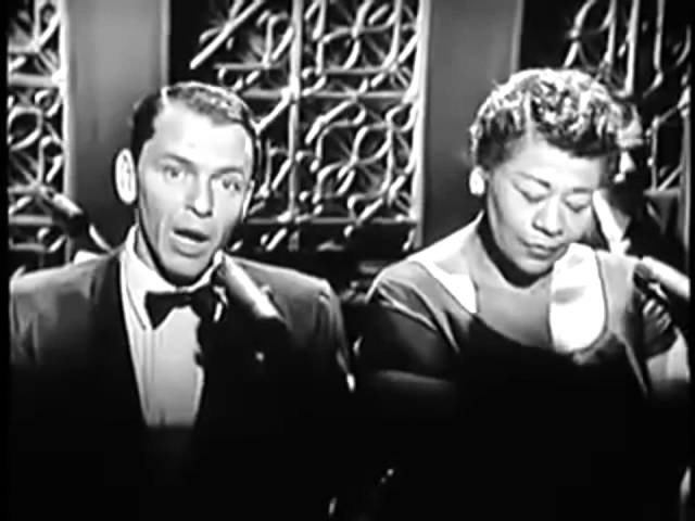 ELLA FITZGERALD FRANK SINATRA – Moonlight In Vermont (early years, HD)