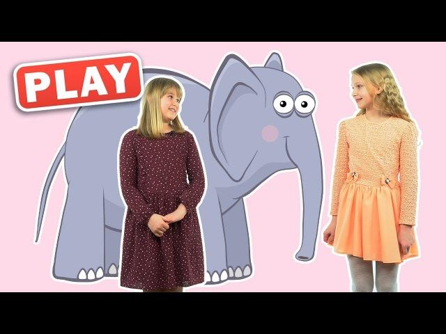 КУКУТИКИ PLAY - Зоопарк - Детская песенка - Поем с Лизой и Соней песенку Привет