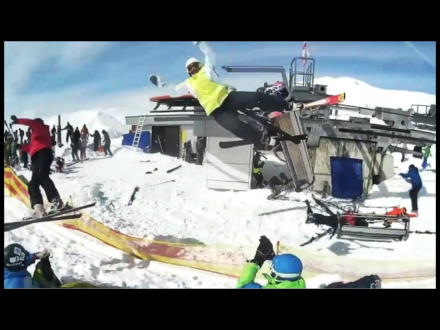 Gudauri Ski Lift accident Leaves at Least Ten injured Part 2