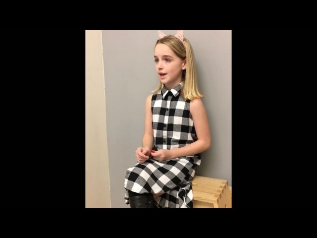 "Mckenna Grace on Instagram: ""Part of Mckenna's video diaries made at The Center for Civil Human Rights yesterday. She was incredibly moved by ever..."