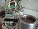 САМОГОН изготовление сухопарника подводка воды двойной перегон