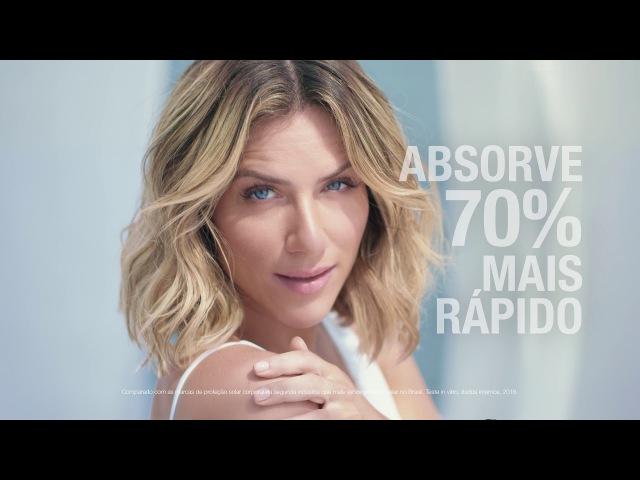 Descubra na pele a proteção hidratante e sequinha de NEUTROGENA® Sun Fresh