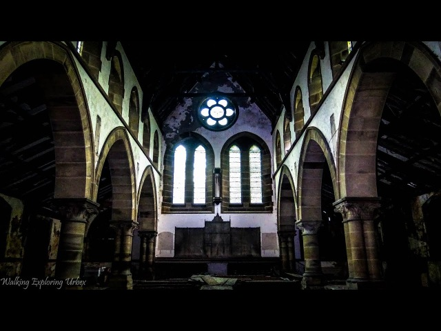 Exploring an ABANDONED Catholic Church used for Middlewood Mental Patients URBEX