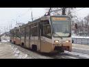 Сдвоенный трамвай 71-619А (КТМ-19) (СМЕ) №26