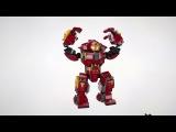 Hulkbuster Smash Up - LEGO Marvel Super Heroes - 76104 Product Animation