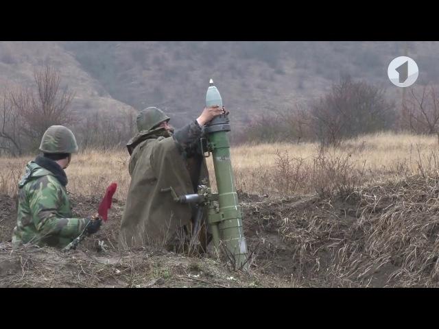 Завершились учения артиллеристов