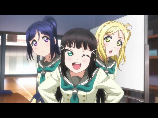 Love Live! Sunshine S2 ED「Yuuki wa Doko ni? Kimi no Mune ni!」EP11 ver. (9 girls edited in)
