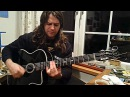 PJ d'Atri playing acoustic jazz guitar