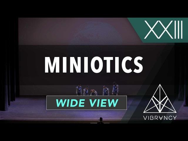 Miniotics | VIBE XXIII 2018 [@VIBRVNCY 4K] | Danceproject.info