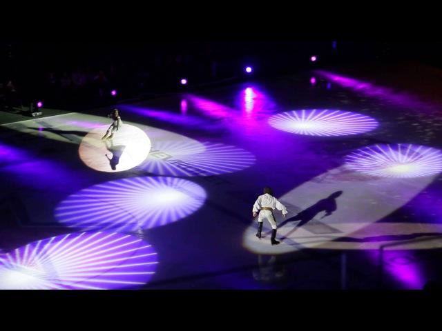 Юнона и Авось на льду Санкт Петербург 07 11 2014г ч 3
